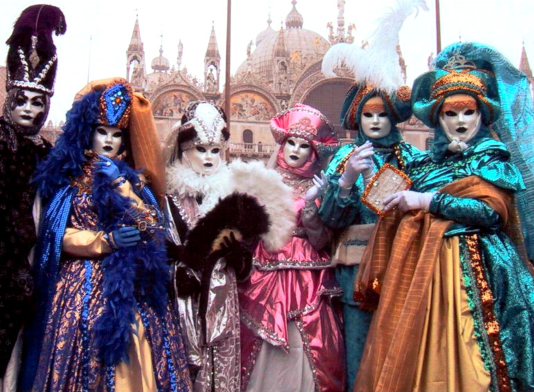 carnaval v venecii